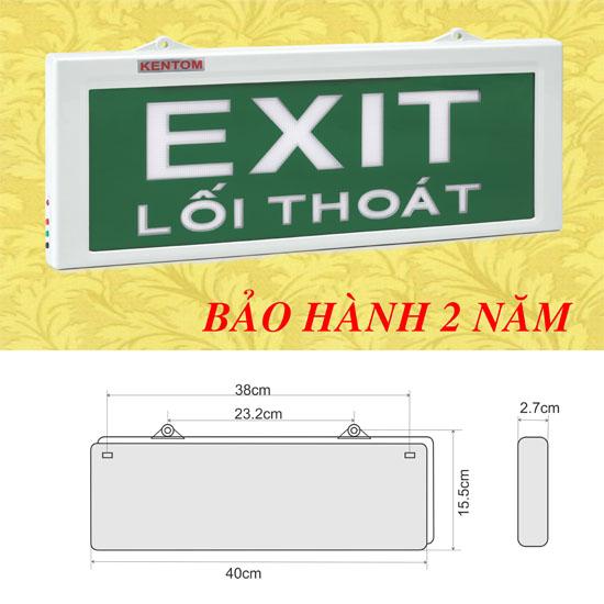 Đèn Exit Kentom KT-690