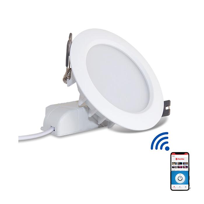 ĐÈN LED ÂM TRẦN DOWNLIGHT SMART WIFI 9W PHI 110MM